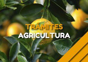 Trámites Agricultura